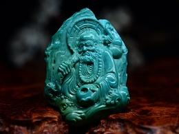 绿松石,达摩渡江