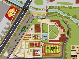 校园地图 鼠标绘制