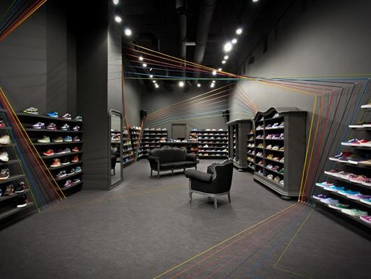 成都鞋店装修设计