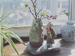 手捏花器手工陶瓷创意花瓶