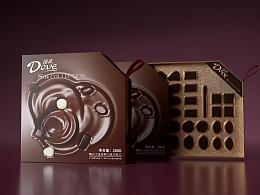 德芙巧克力包装设计