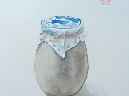 老北京系列之瓷瓶酸奶