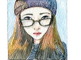 手绘文艺系列——《人物肖像》