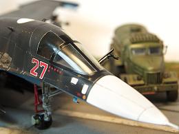 """1/72 俄國空軍 蘇-34 黑鴨子 """"敘利亞鬼魂"""""""