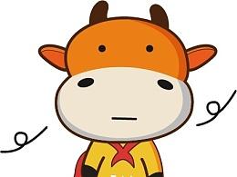 手绘小牛牛