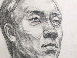 手绘-素描 人物头像