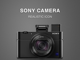 SONY相机拟物绘制