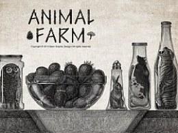 动物庄园系列插画——厨房