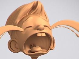 丝路文化三维卡通角色1 (3d 打印模型)