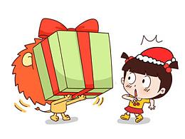 小明漫画——十二星座圣诞节这么说