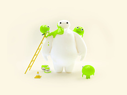 Green Baymax