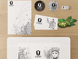 UCBEER精酿啤酒吧品牌设计