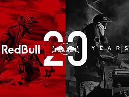 2014年给红牛做的品牌飞机稿