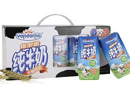 维多诺纯牛奶礼盒装