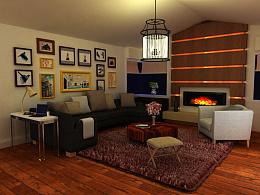三维建模设计-室内设计