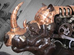 硬刃——《十二兽首·犀牛》