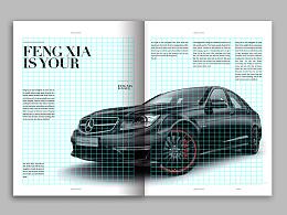 FANG/网格系统运用/汽车画册设计
