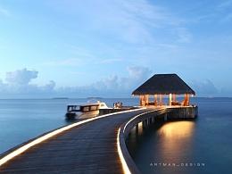 【风光壁纸】阿门的马尔代夫游记。