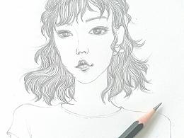 铅笔画一幅