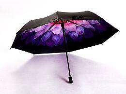 一些伞面的设计