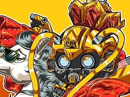 《西行路上的大黄蜂和杰克马》