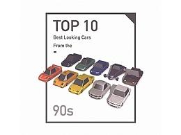 Low Poly 90年代跑车系列