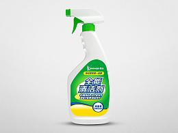 雪品清洁剂系列包装