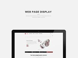 beats官网页面设计
