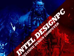 魔兽世界电影海报设计风格稿