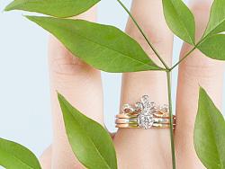 【梵尼洛芙珠宝轻奢公主系列】Hera 赫拉 设计灵感:公主桂冠 - 求婚钻戒 婚戒设计
