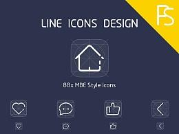 icon图标绘制,mbe icon,APP icon,icon展示,图标展示,APP图标,MBE图标
