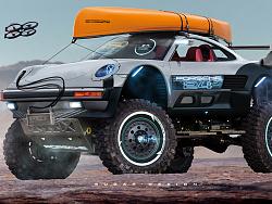 保时捷丨911 Gran Tour 4X4 Dune & Lake