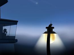 望向孤单的晚星,是那伤感的记忆......