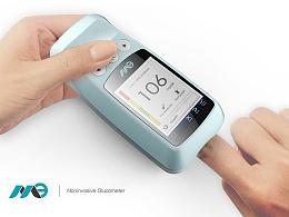 无创血糖检测仪--意臣工业设计innozen