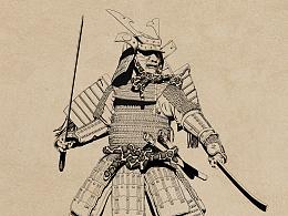 武士-作画步骤