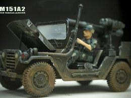 美军M151Jeep静态模型