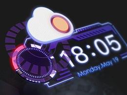 科幻手机主题Future Has Arrived及输入法皮肤优化版(.psd)(.gif)