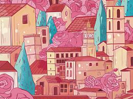 粉红色系列