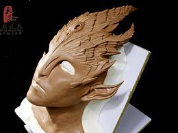 特效化妆 雕塑作品