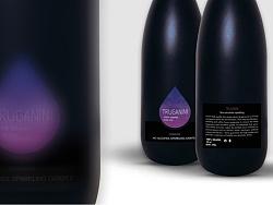 澳洲气泡葡萄汁-瓶贴设计