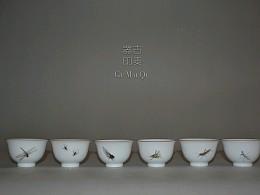 草虫茶具器皿