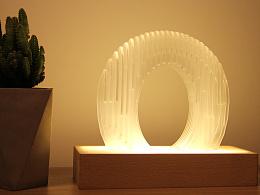 拾古为新创意灯具设计