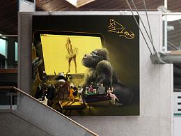 风行网三周年手绘海报