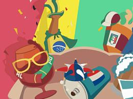 世界杯球迷闪屏创作分享