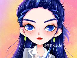 THE9 赵小棠『小兔插画』原创