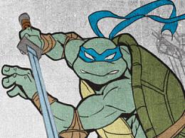 忍者神龟同人图