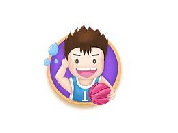 篮球小子-原创设计