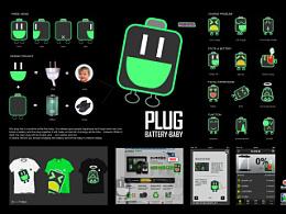 金山电池医生-电池宝宝卡通形象设计,2012oneshow入围。merit奖。旧作
