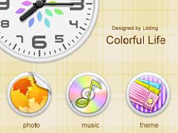 主题《colorfullife》的图标,希望大家喜欢