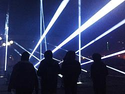 清华美院60周年庆无人机灯光秀